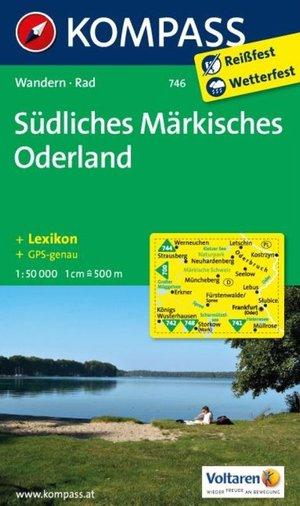 Kompass WK746 Südliches Märkisches Oderland