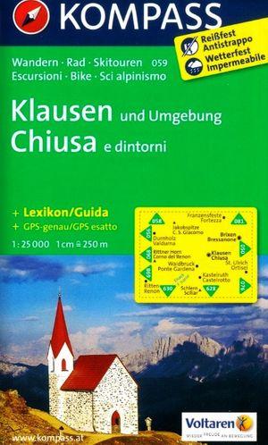 Kompass WK059 Klausen und Umgebung