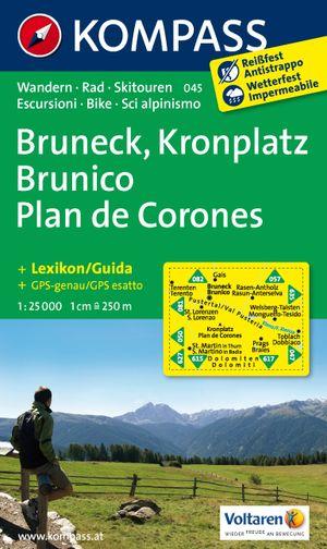 Kompass WK045 Bruneck, Kronplatz