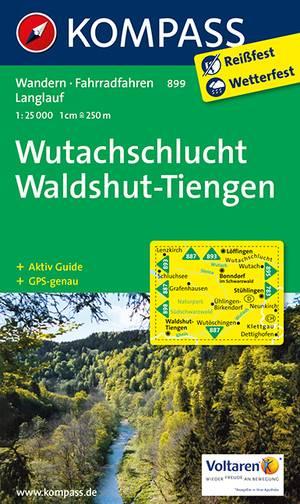 Kompass WK899 Wutachschlucht, Waldshut, Tiengen