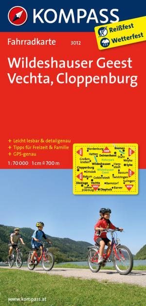 Kompass FK3012 Wildeshauser Geest, Vechta, Cloppenburg