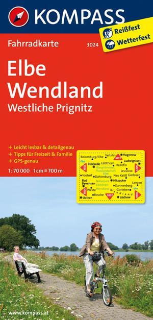 Kompass FK3024 Elbetal, Wendland, Westliche Prignitz