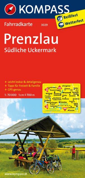 Kompass FK3029 Prenzlau, Südliche Uckermark