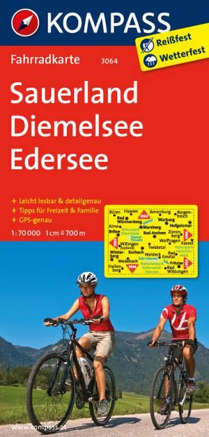 Kompass FK3064 Sauerland, Diemelsee, Edersee