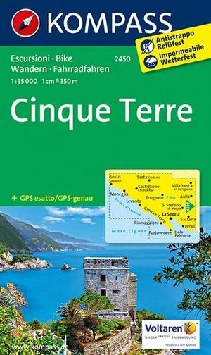 Kompass WK2450 Cinque Terre