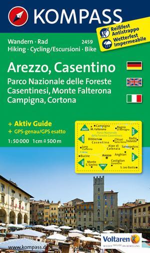 Kompass WK2459 Arezzo, Casentino