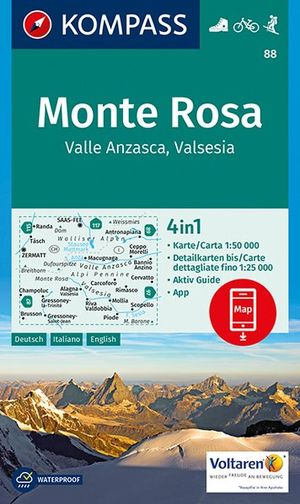 Kompass WK88 Monte Rosa