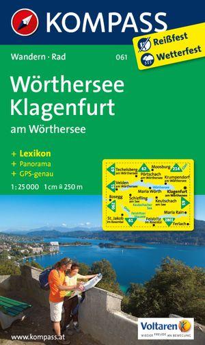 Kompass WK061 Wörthersee, Klagenfurt