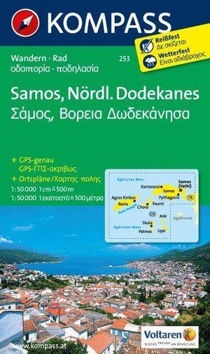 Kompass WK253 Samos, Nördlicher Dodekanes
