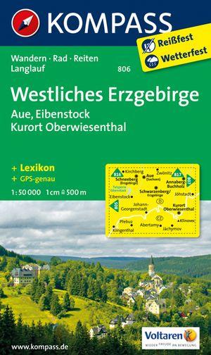 Kompass WK806 Westliches Erzgebirge