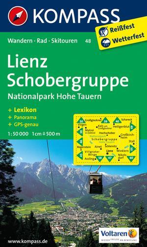 Kompass WK48 Lienz, Schobergruppe, Nationalpark Hohe Tauern