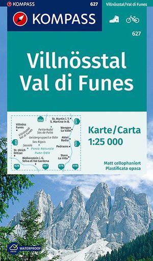 Kompass WK627 Villnösstal / Val di Funes