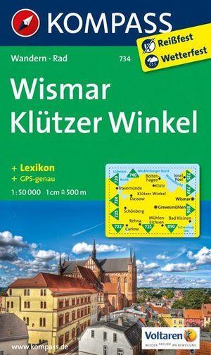 Kompass WK734 Wismar, Klützer Winkel