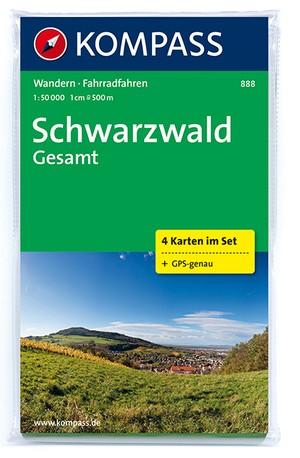 Kompass WK888 Schwarzwald Gesamt