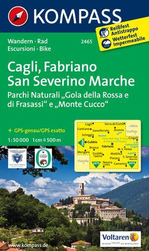 Kompass WK2465 Cagli, Fabriano, San Severino Marche