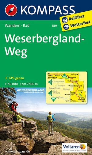 Kompass WK819 Weserbergland-Weg