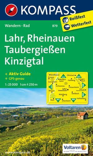 Kompass WK879 Lahr, Rheinauen, Taubergiessen, Kinzigtal