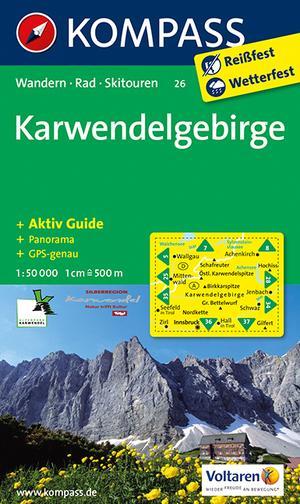 Kompass WK26 Karwendelgebirge