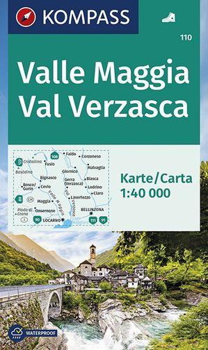 Kompass WK110 Valle Maggia-Val Verzasca