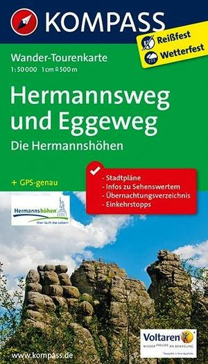Kompass WTK2504 Hermannshöhen, Hermannsweg