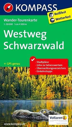 Kompass WTK2505 Westweg Schwarzwald