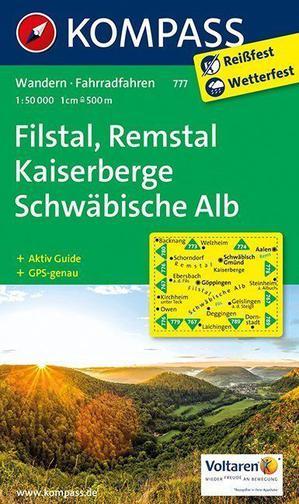 Kompass WK777 Kaiserberge-Filstal, Schwäbische Alb