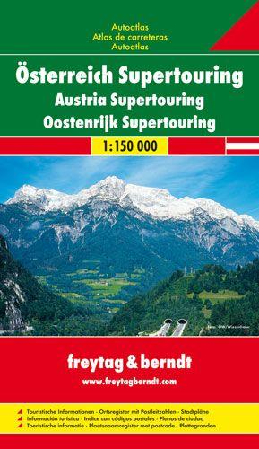 Freytag & Berndt Atlas Österreich Supertouring F&B