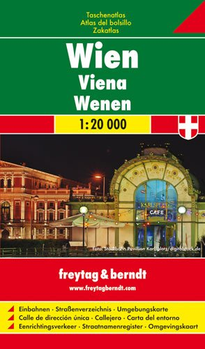 Wien Taschenatlas 1 : 20 000