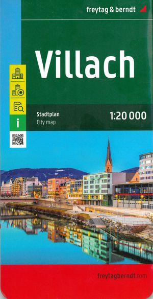 F&B Villach Stadskaart 1:20 000