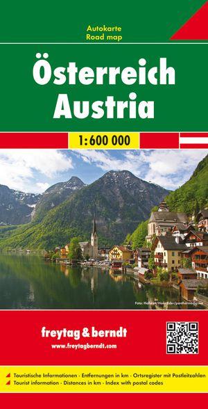 Österreich 1 : 600 000 Autokarte