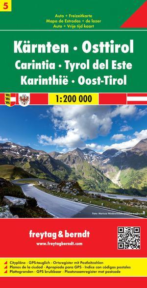 F&B Oostenrijk blad 5 Karinthie, Oost-Tirol