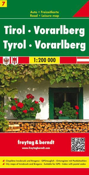 F&B Oostenrijk blad 7 Tirol, Vorarlberg