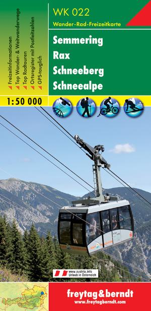F&B WK022 Semmering, Rax, Schneeberg, Schneealpe