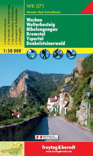 F&B WK071 Wachau, Welterbesteig, Nibelungengau, Kremstal, Yspertal, Dunkelsteinerwald