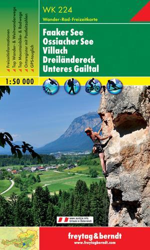 F&B WK224 Faaker See, Ossiacher See, Villach, Dreiländereck, Unteres Gailtal
