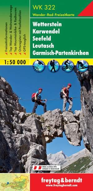 F&B WK322 Wetterstein, Karwendel, Seefeld, Leutasch, Garmisch-Partenkirchen