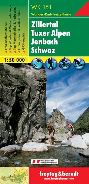 F&B WK151 Zillertal, Tuxer Alpen, Jenbach, Schwaz