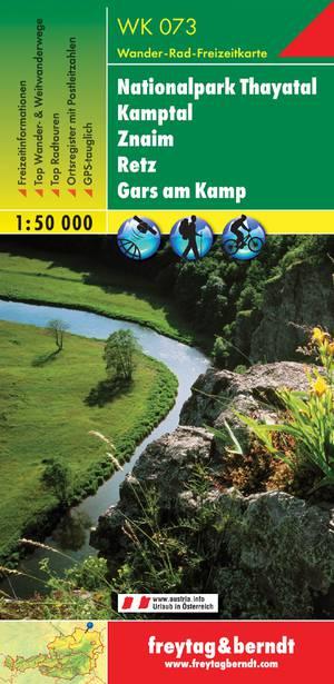 F&B WK073 Nationalpark Thayatal, Kamptal, Znaim, Retz, Gars am Kamp