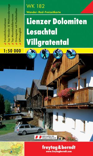 F&B WK182 Lienzer Dolomiten, Lesachtal, Villgratental