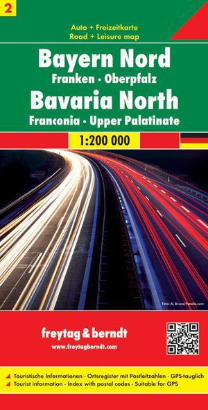 F&B Duitsland 2, Beieren-Noord-Midden, Franken,  Oberpfalz