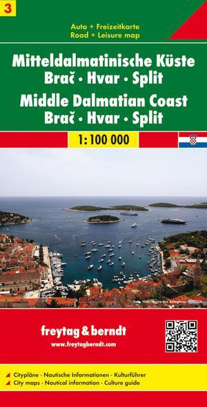 F&B Dalmatische kust 3, Brac, Hvar, Split