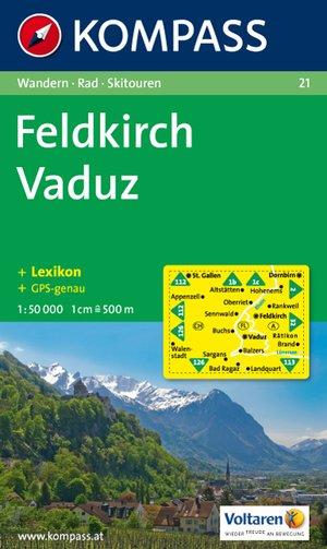 Kompass WK21 Feldkirch, Vaduz