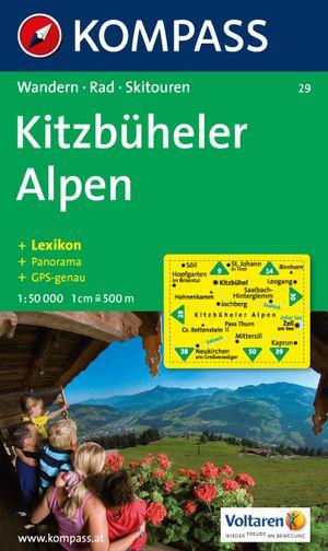 Kompass WK29 Kitzbühler Alpen