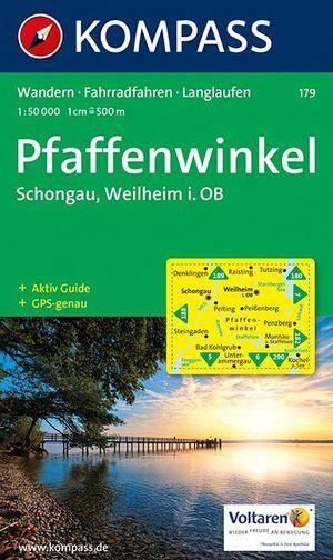 Pfaffenwinkel, Schongau, Weilheim in Oberbayern 179 GPS+AG