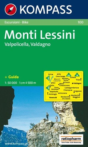 Kompass WK100 Monti Lessini, Valpolicella, Valdagno