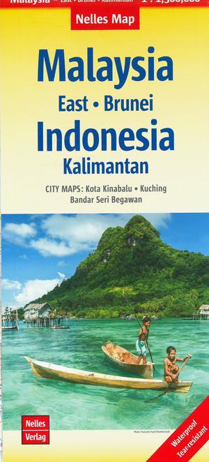 Maleisië Oost/ Bruneïï / Kalimantan Indonesië