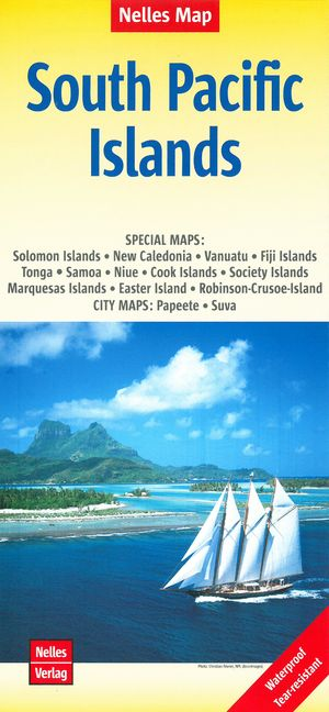 South Pacific Islands / Salomon-new Caledonia-vanuatu-fiji...