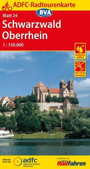 Schwarzwald / Oberrhein fietskaart