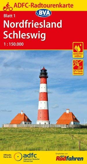 Nordfriesland / Schleswig fietskaart