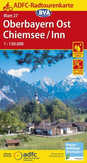 Oberbayern Ost - Chiemsee / Inn fietskaart